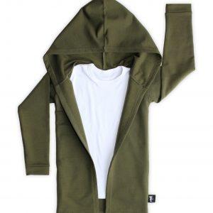 By Xavi Extra Lang Vest Hunter Green